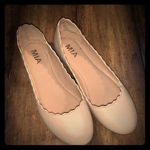Mia cute pink slip on dress shoes